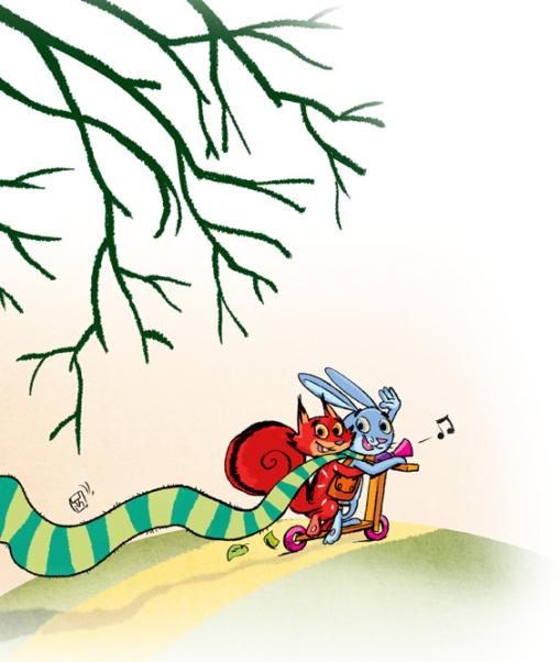 Zeka i veverica