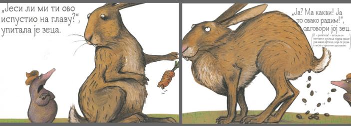 Krtica i zec